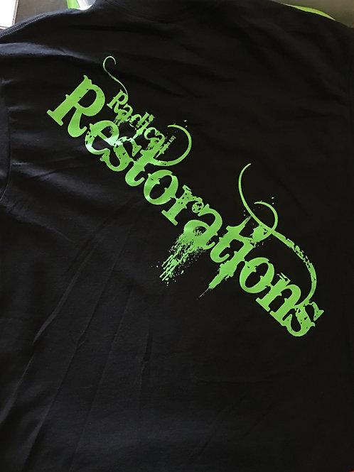 Radical Logo T-shirt  (Black/Green Logo)