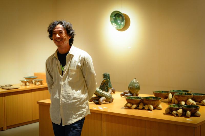山田和男さん陶器展