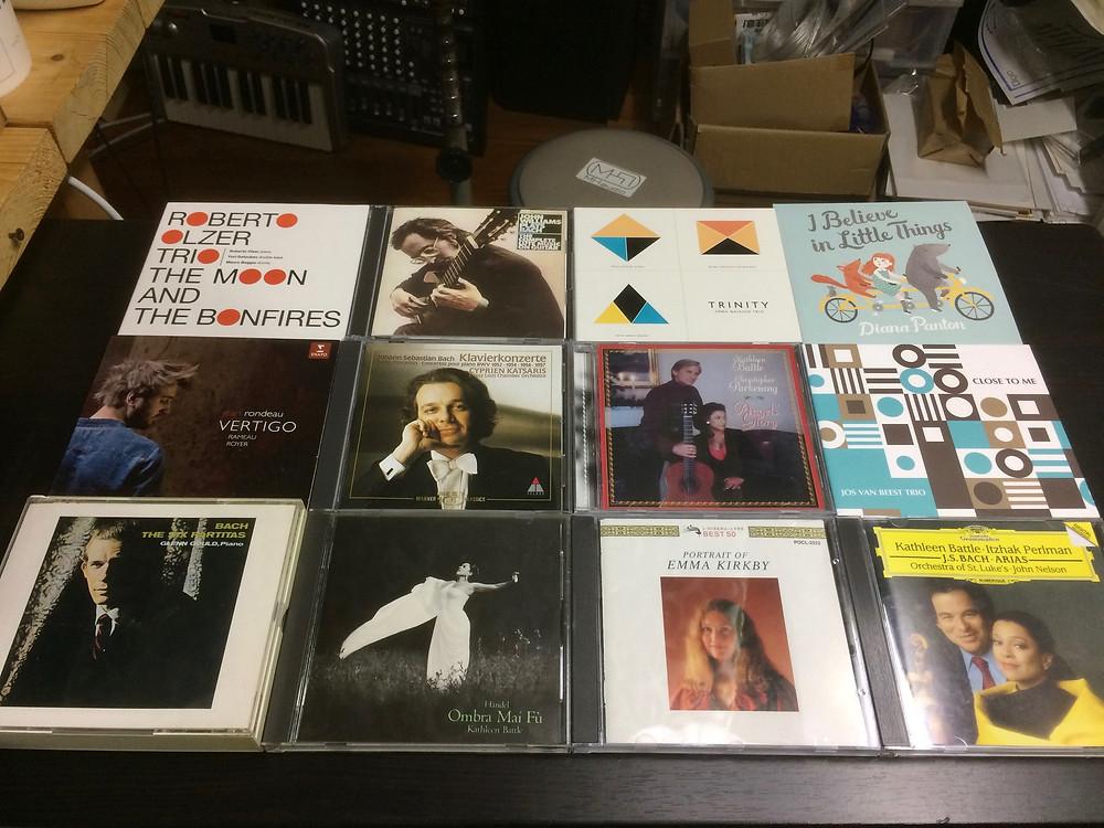 最近買ったCD、MHaudio