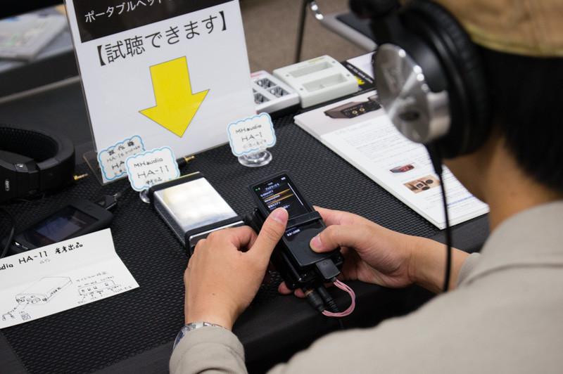 ポタフェス大阪(レポ2)1日目、お客様機材など