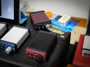 春のヘッドフォン祭 2012 報告5 充電式9V電池、ブースジャック