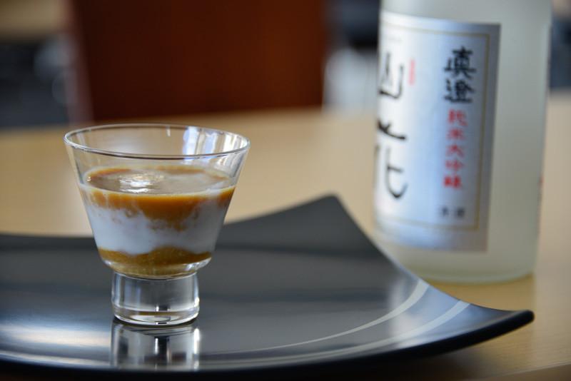 珈琲と日本酒