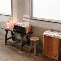 MH audio 'Oto no Hako' at book cafe