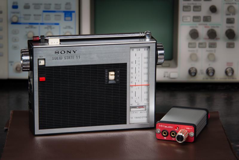 昔のSonyのラジオ、HA-1カスタム