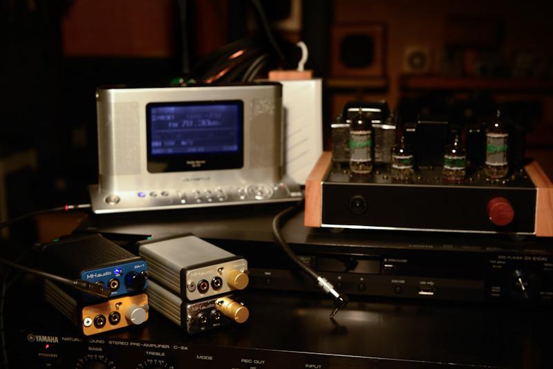 世界最小オーディオアンプ DA-1 もやってます