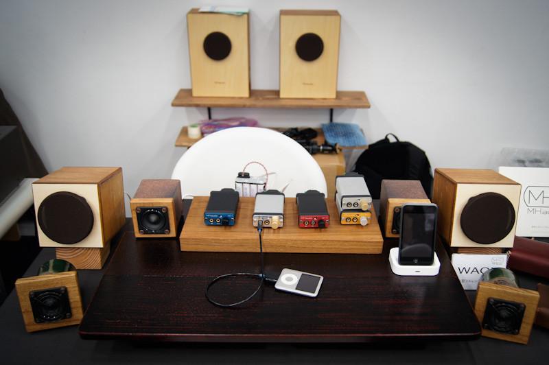 春のヘッドフォン祭 2012 報告1 展示品など