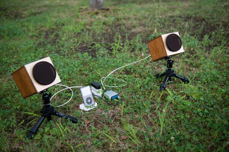 お外で音楽鑑賞、MH audioの WAON & DA-1