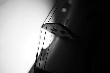 Violin , Instrument in Dark , Black and