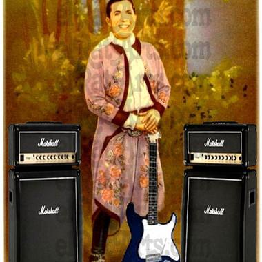 Gardel con guitarra eléctrica (2011)