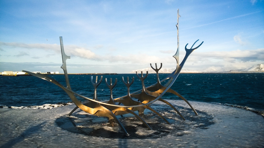 Sun Voyager, Iceland