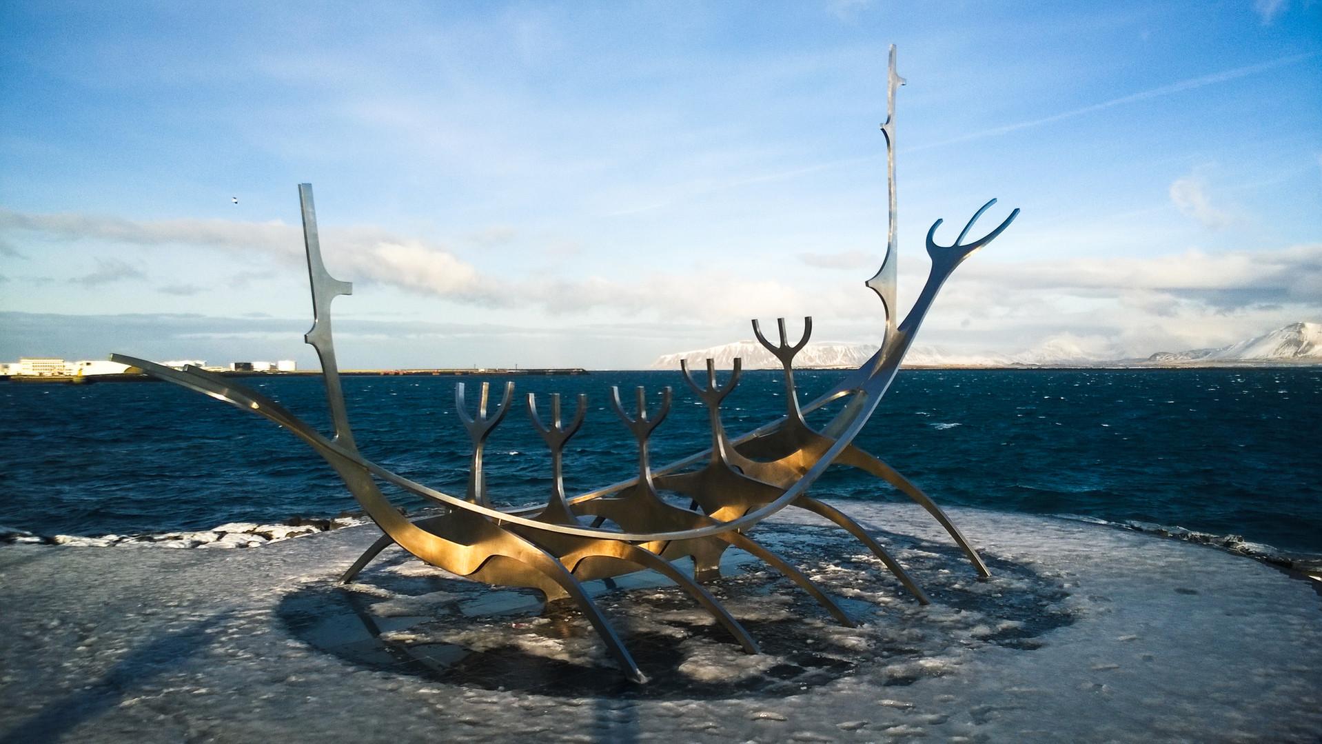 Sun Voyager, Iceland