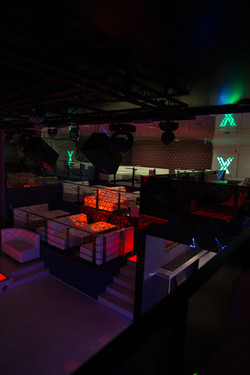 The X club interior