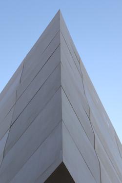 Closeup architectural concrete