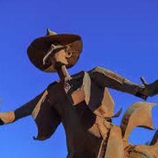 Rodeo Starue