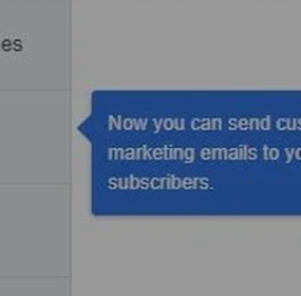 Facebook voegt optie toe voor aangepaste marketing e-mails via de Facebook Page app