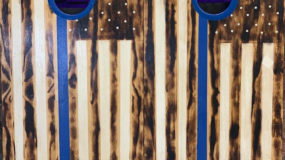 Scioli Wood Custom Cornhole Board