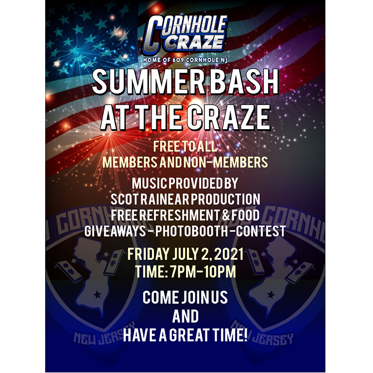 The Craze's FREE Summer Kickoff Party