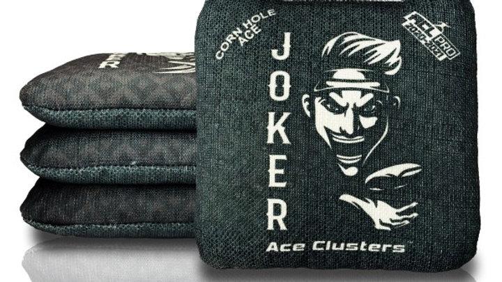 JOKER - Black Cornhole Bags (Set of 4 Bags)