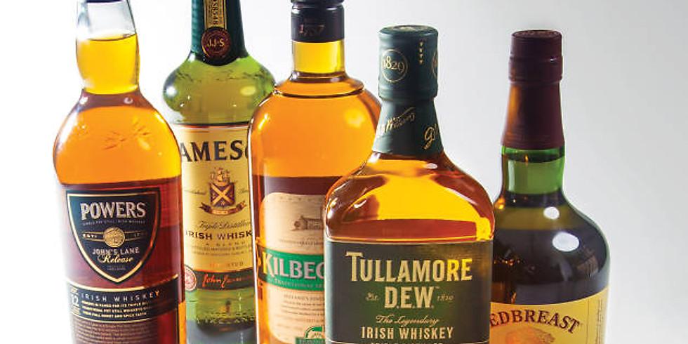 St. Patty's Irish Whiskey Tasting and Cornhole Event