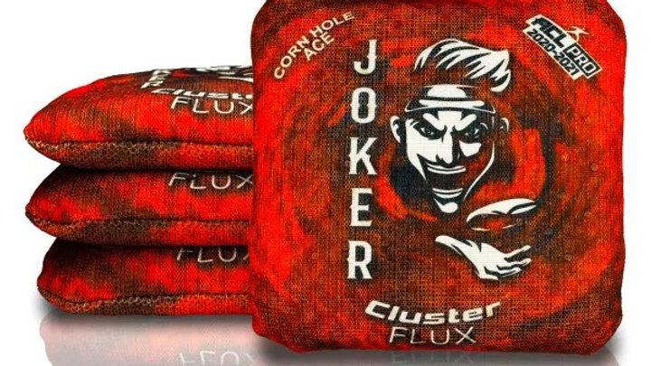 Joker-Red Cornhole Bags (Set of 4 Bags)