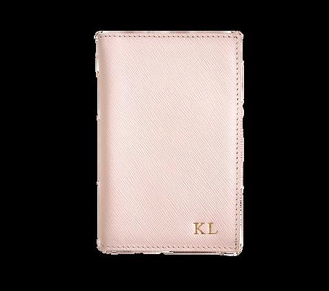 Blush passport cover