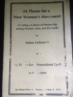 24 Theses for a New Women's Movement