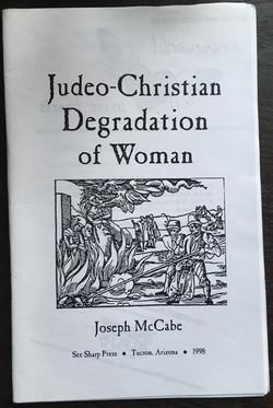 Judeo-Christian Degradation of Woman
