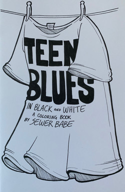 Teen Blues in Black and White