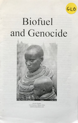 Biofuel and Genocide