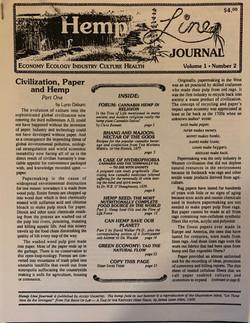 Hemp Line Journal