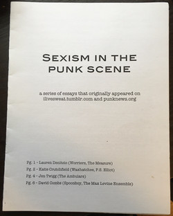 Sexism in the Punk Scene