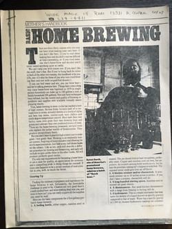 Basic Home Brewing