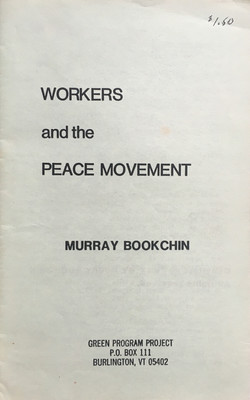 Workers and the Peace Movement