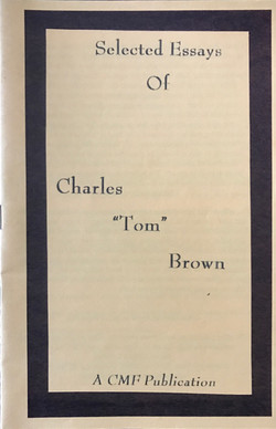 Selected Essays of Charles Tom Brown