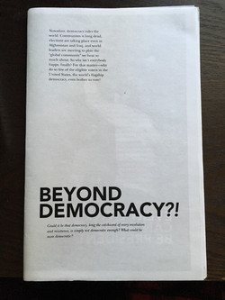 Beyond Democracy?!