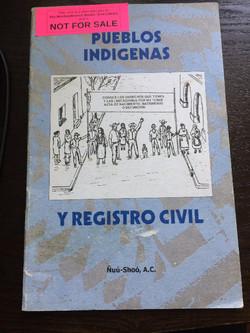Pueblos Indigenas Y Registro Civil