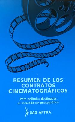 Resumen de los Contractos Cinematograficos