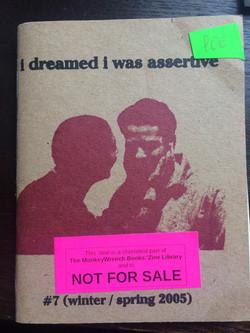 I Dreamed I Was Assertive