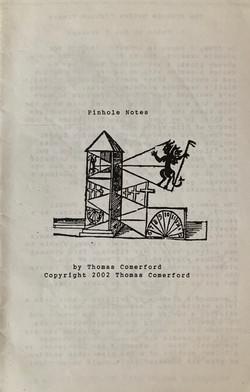 Pinhole Notes