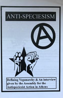 Anti-Speciesism