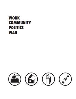 Work Community Politics War