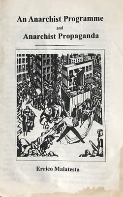 Anarchist Programme & Anarchist Propaganda, An