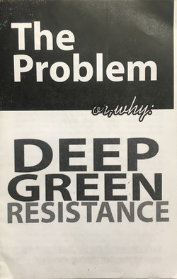Problem or, Why - Deep Green Resistance, The
