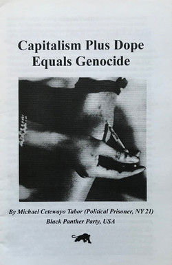 Capitalism Plus Dope Equals Genocide
