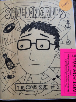 Sheldongrub: The Comix Issue