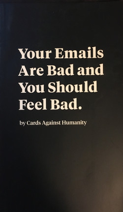 Your Emails are Bad and You Should Feel Bad