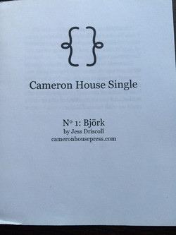 Cameron House Single: Bjork