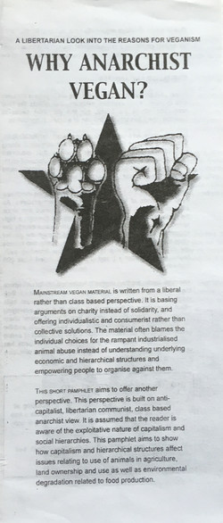 Why Anarchist Vegan?