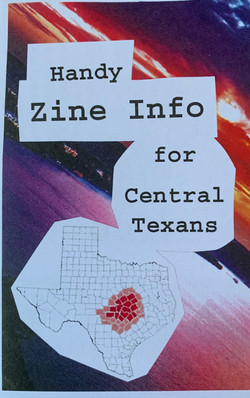 Handy Zine Info for Central Texans
