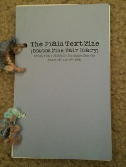 Plain Text Zine, The